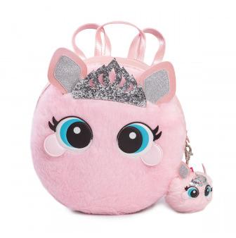 aaa2573fc0 Mochila Infantil Pampili Princess Dot Rosa Glace