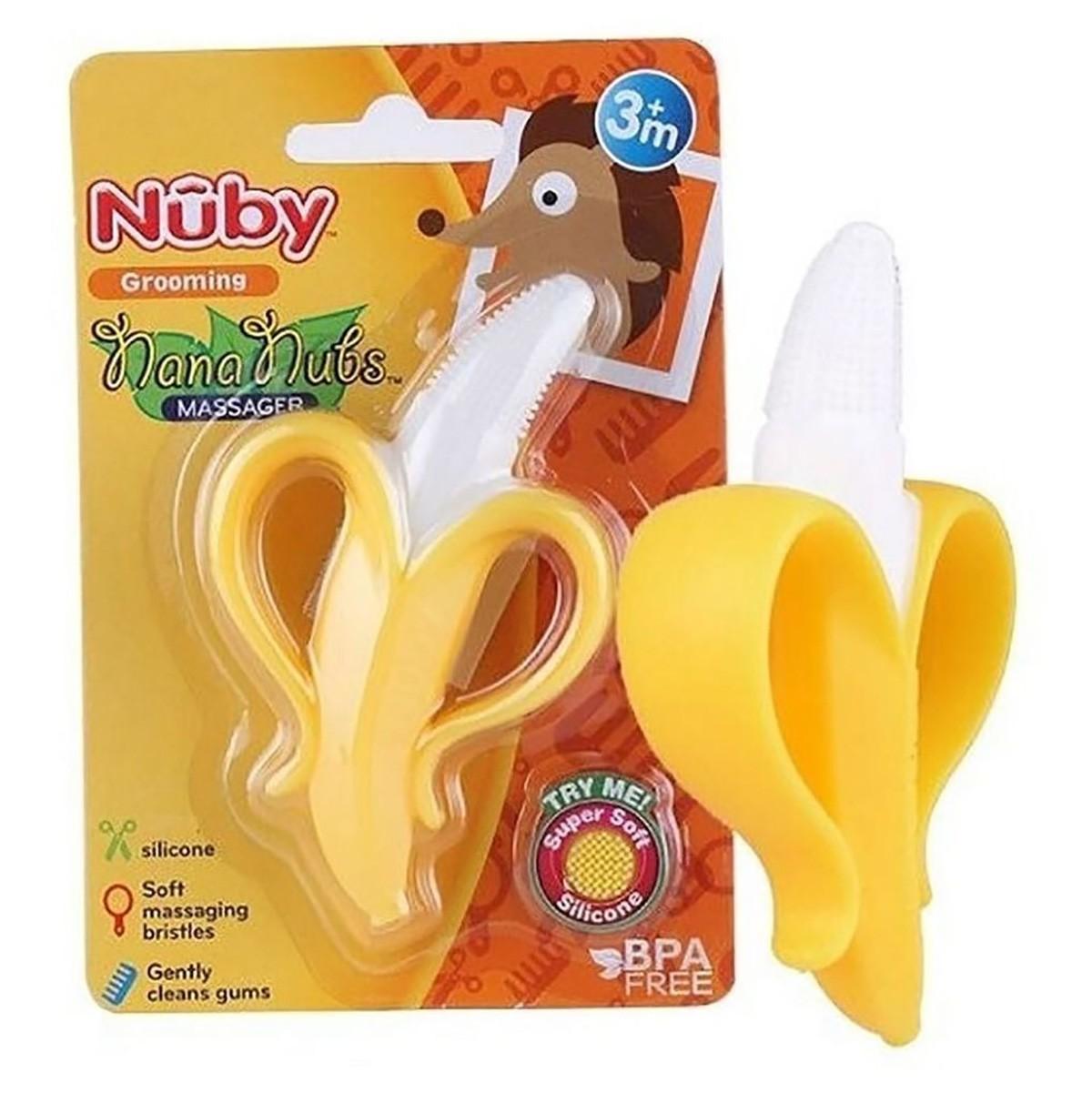 Mordedor Nuby Bananinha Massageador