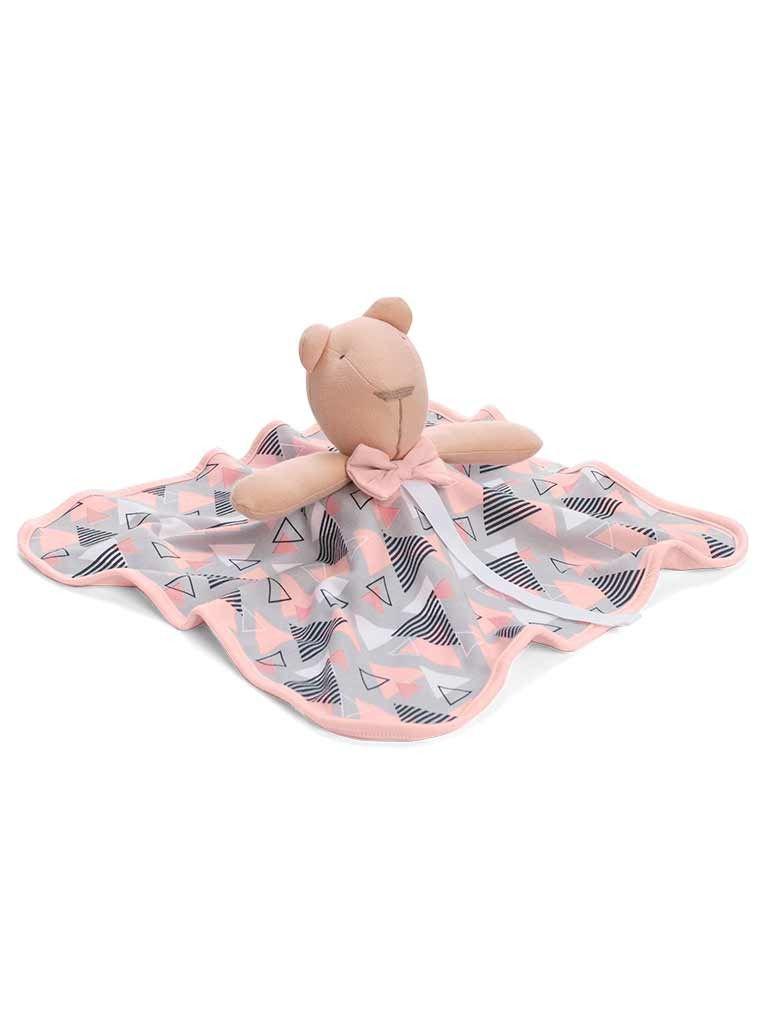 Naninha Hug Baby Bear Menina Rosa E12708