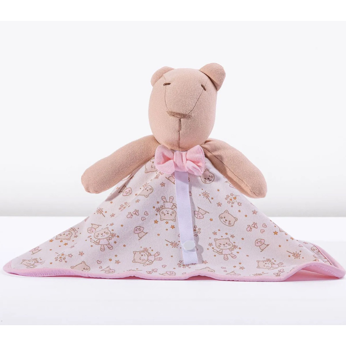 Naninha Hug Baby Bear Mundo de Fantasia Rosa