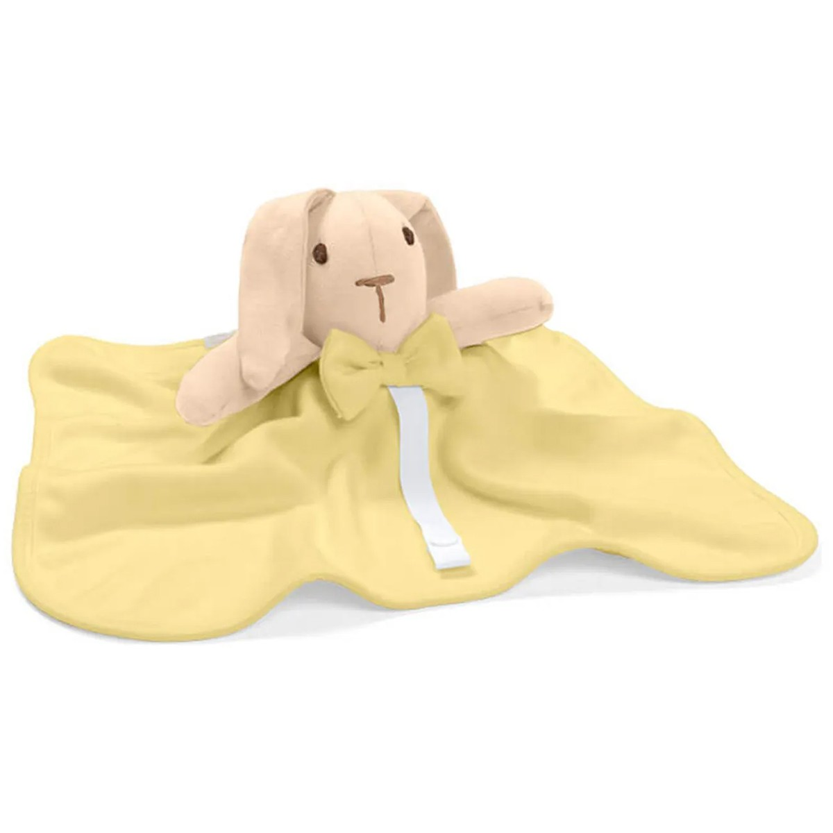 Naninha Hug Baby Coelho Amarela