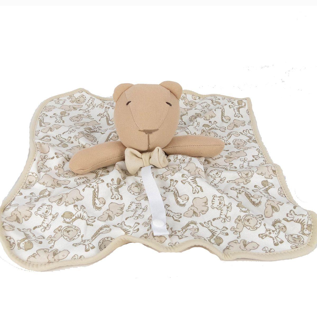 Naninha Hug Baby Selva Bege E13408