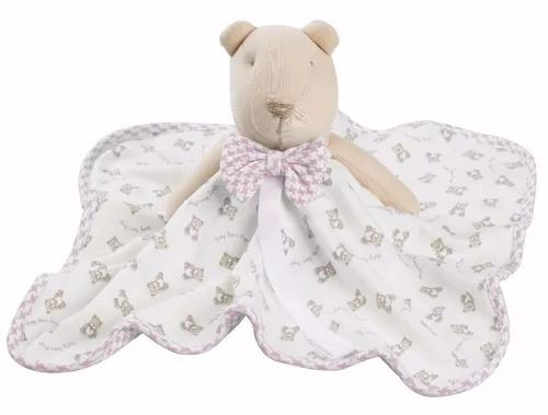 Naninha Hug Baby Ursos Menina Rosa