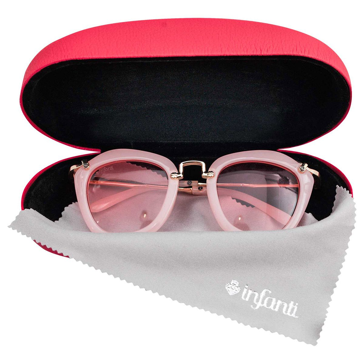 Oculos Infanti Feminino Infantil Rosa Proteção UV400