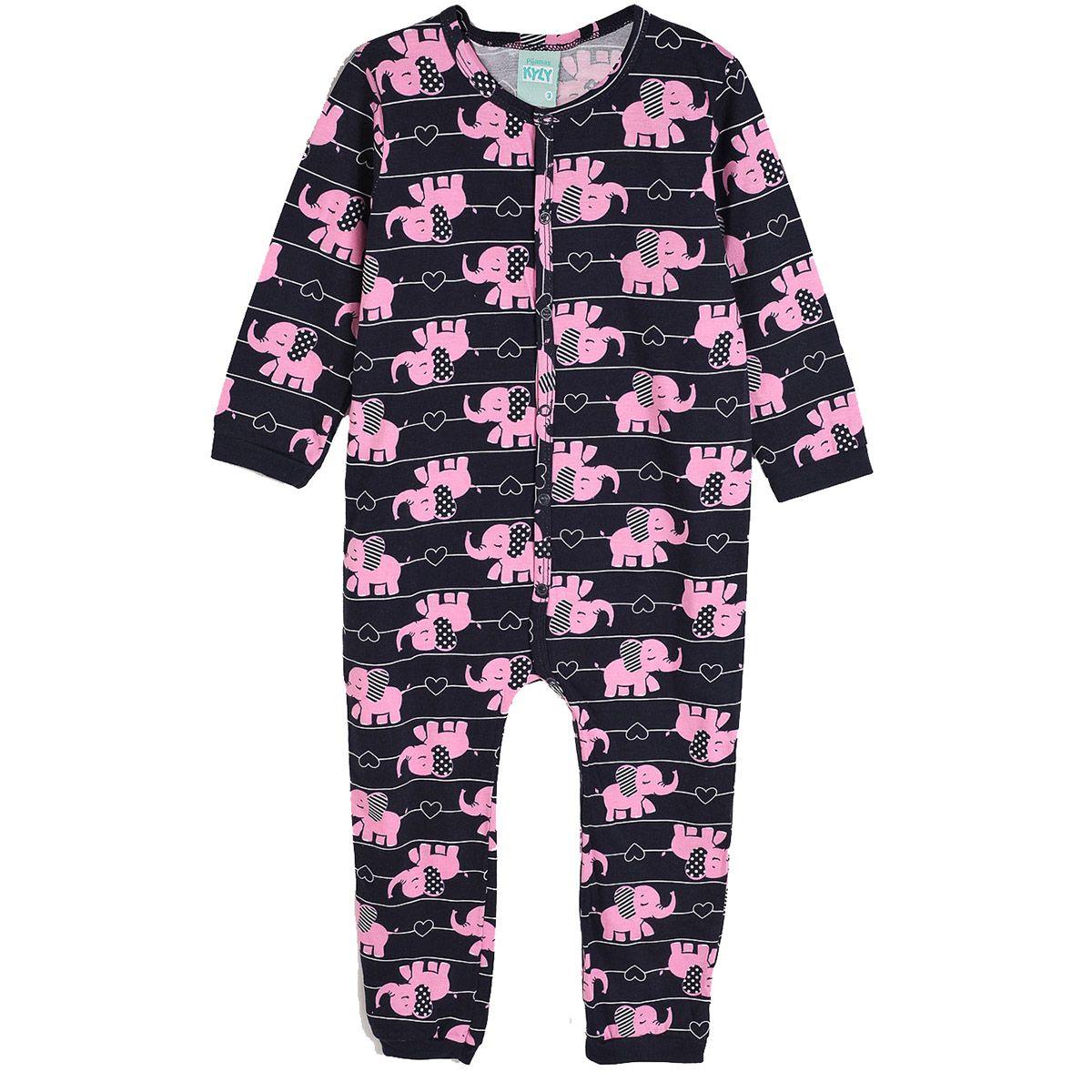 Pijama Kyly Longo Bebê Elefante
