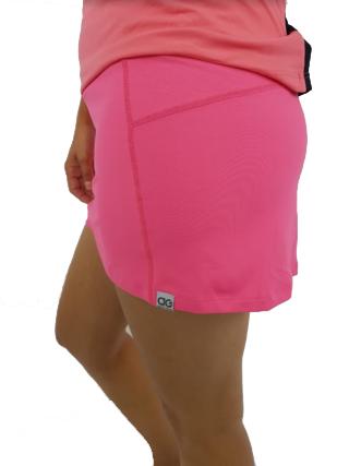 Saia Shorts Alto Giro Feminino Light