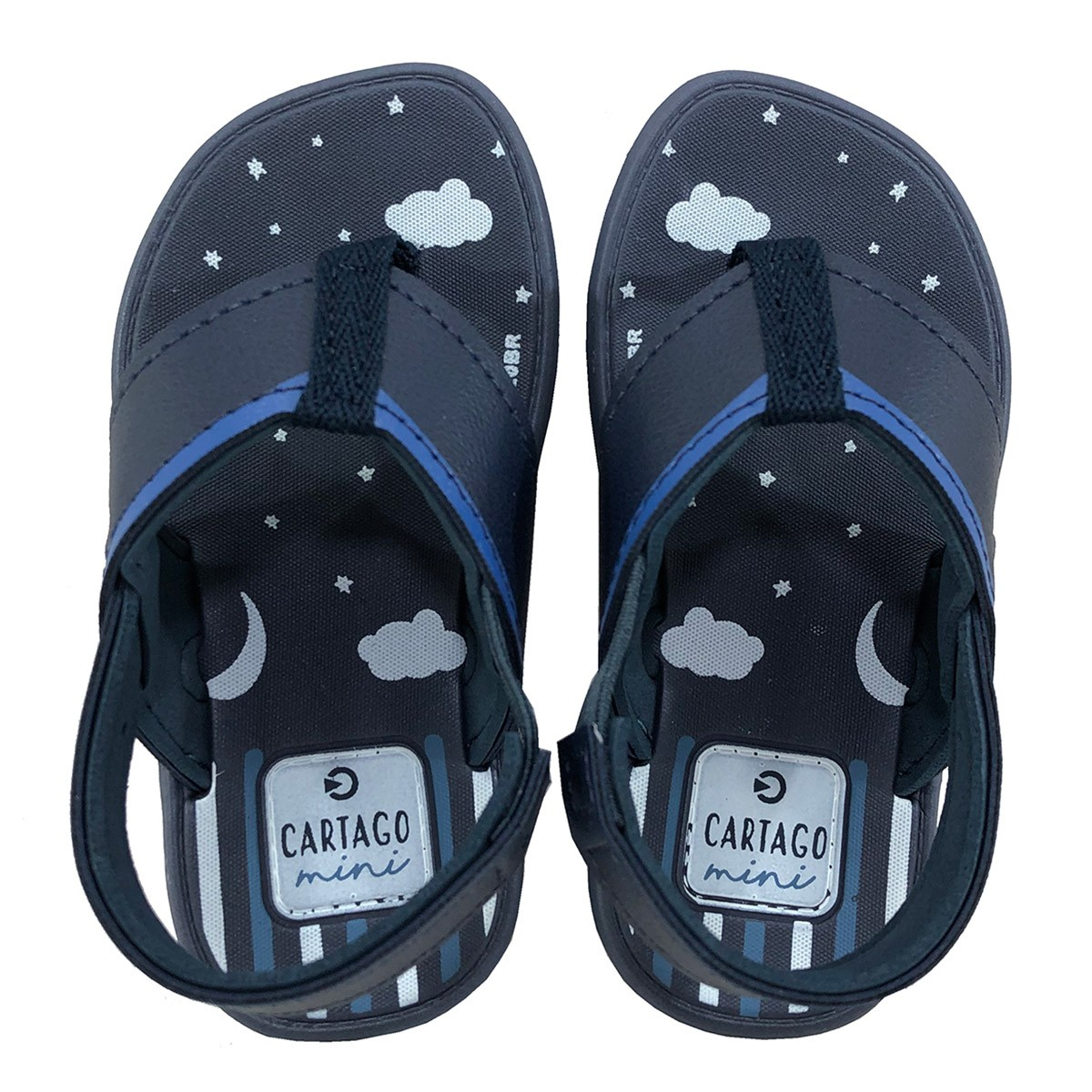 Sandalia Cartago Mini Dedo Azul