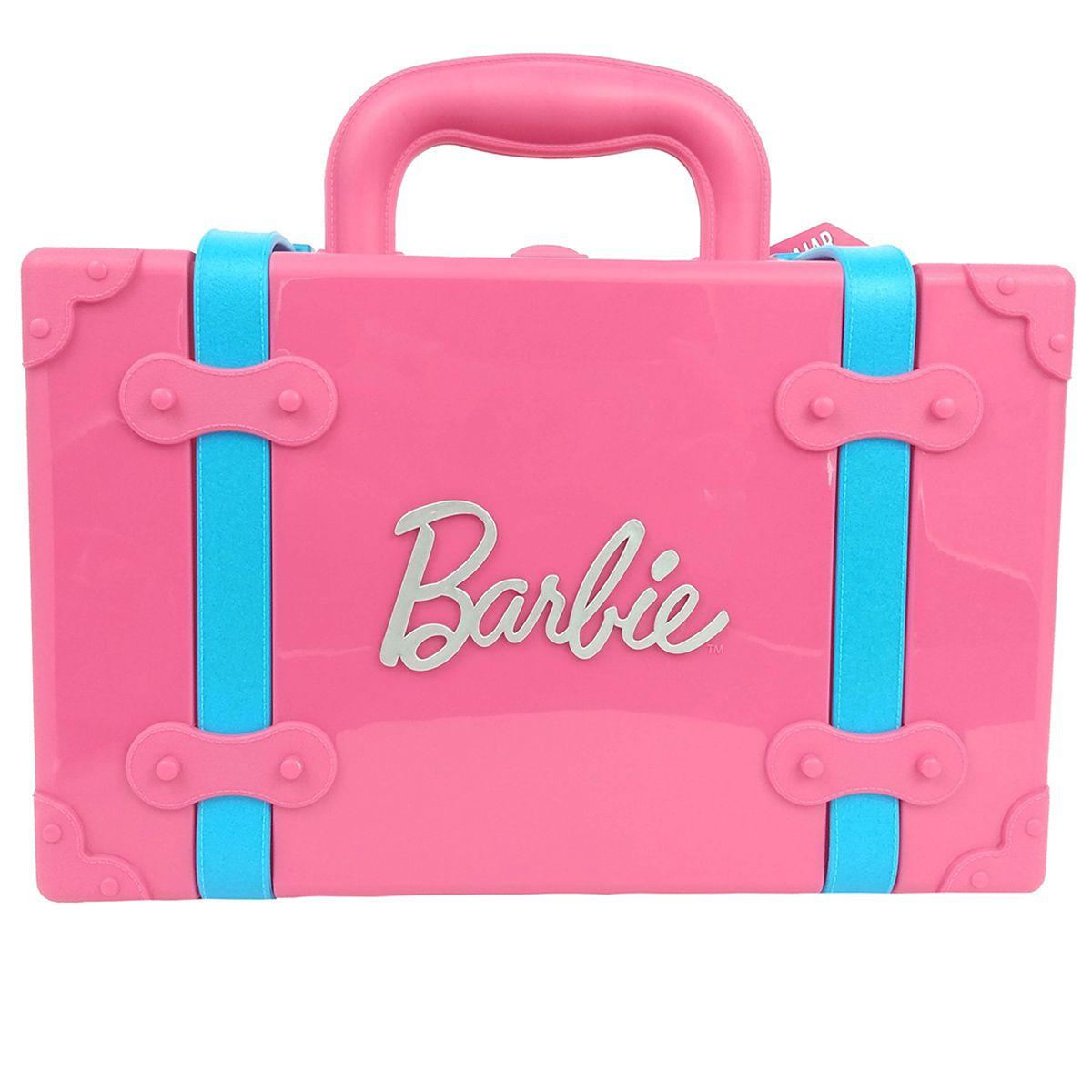 Sandália Feminina Barbie Rosa Maleta