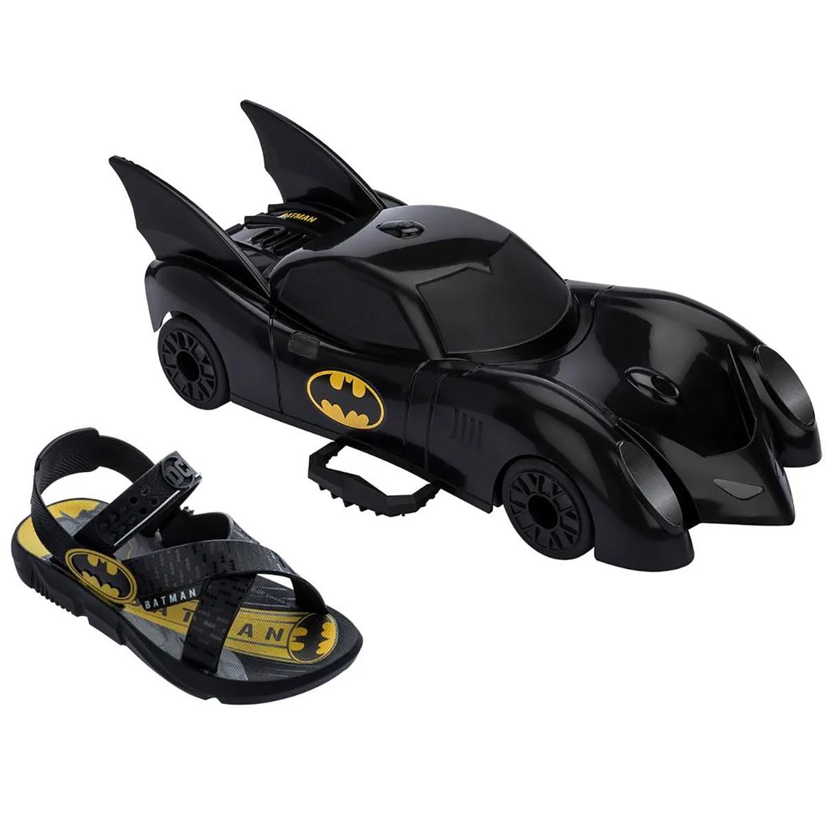 Sandalia Grendene Batman Batmovel