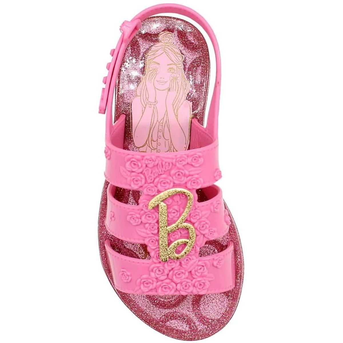 Sandalia Grendene Feminina Barbie Spa