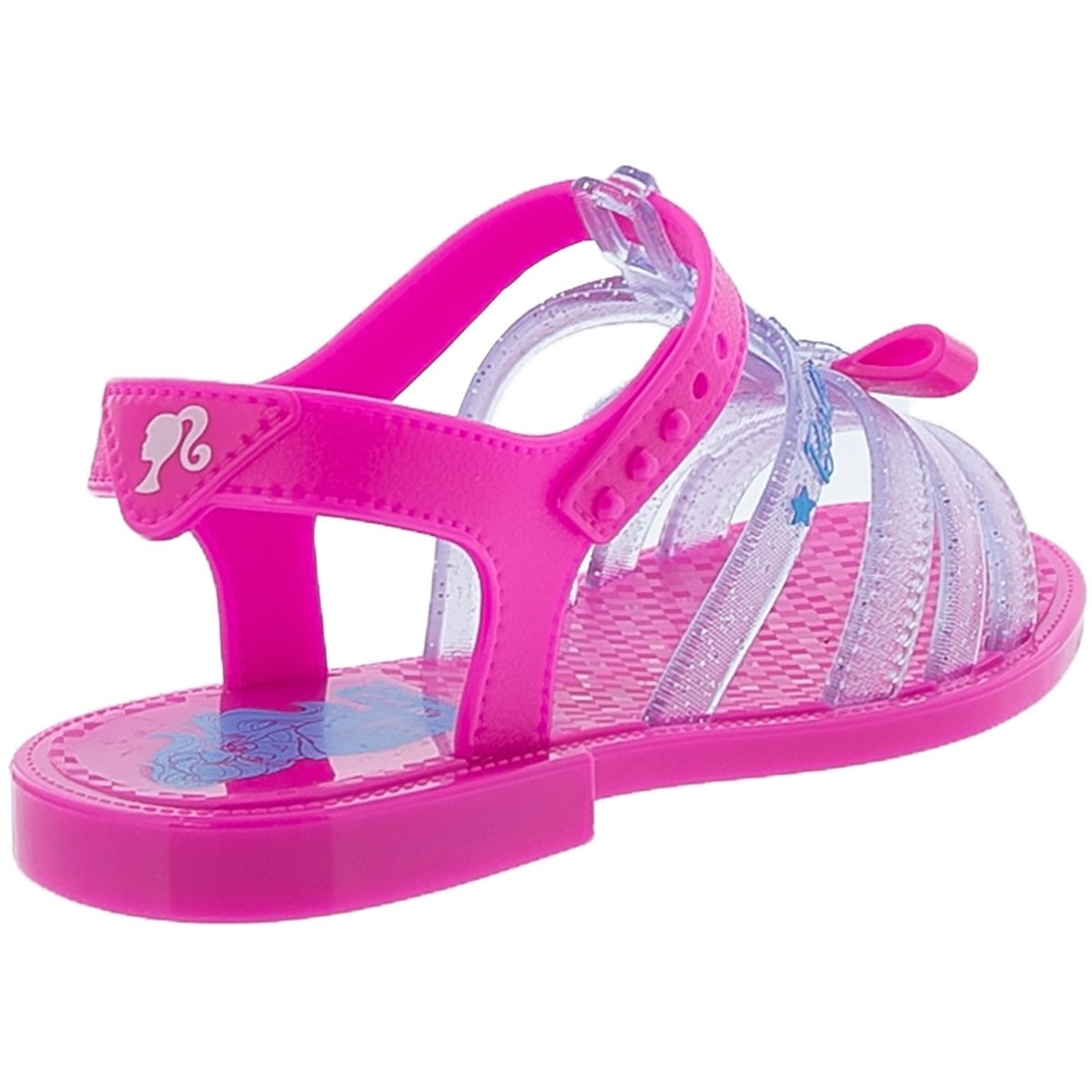 Sandalia Grendene Infantil Carro da Barbie