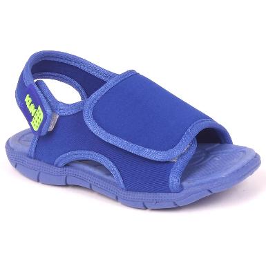 Sandalia Klin Infantil Masculina Tic Tac Azul