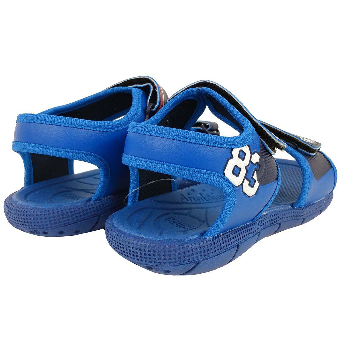 Sandalia Klin Masculina Tic Tac Azul