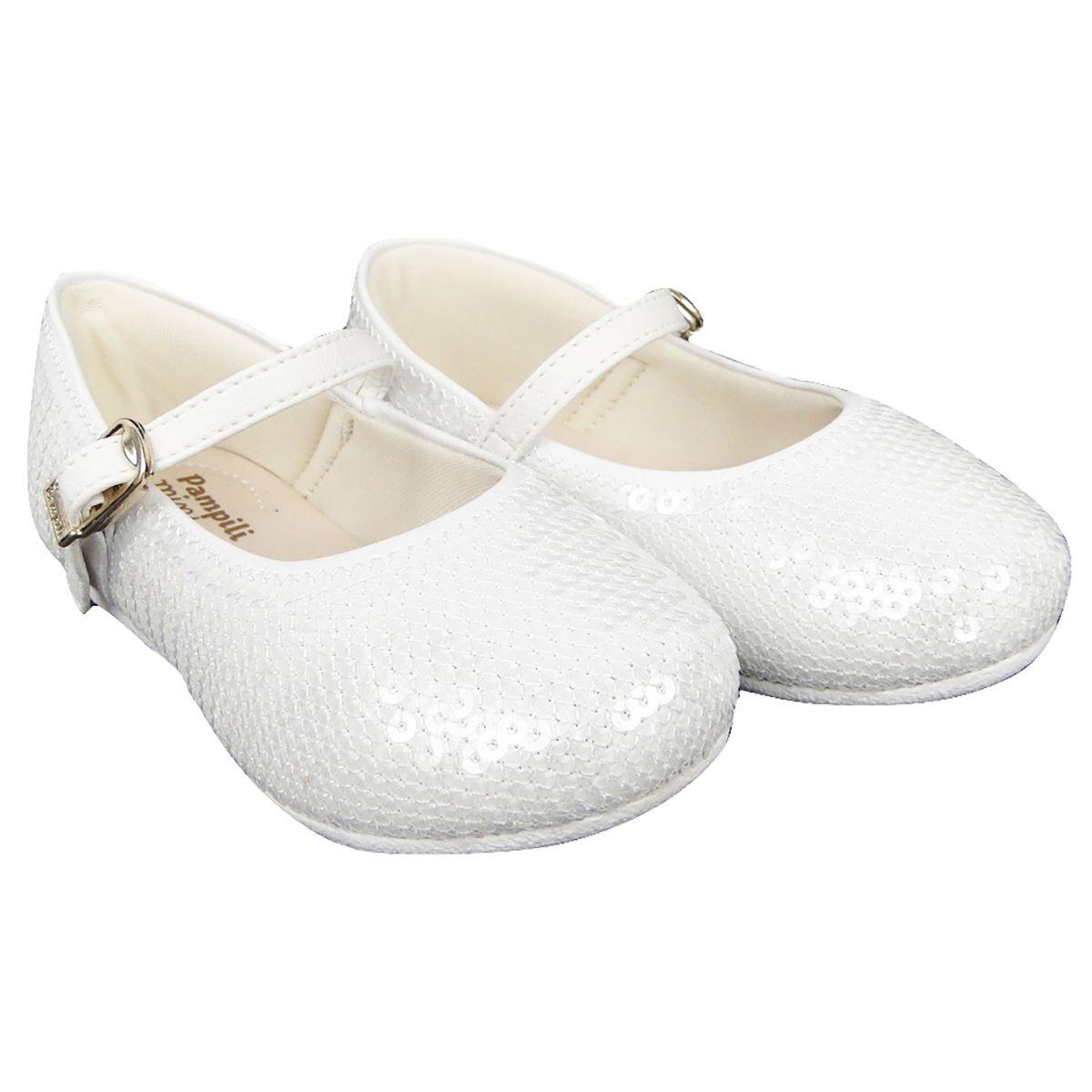 Sapatilha Pampili Feminina Bailarina Branca