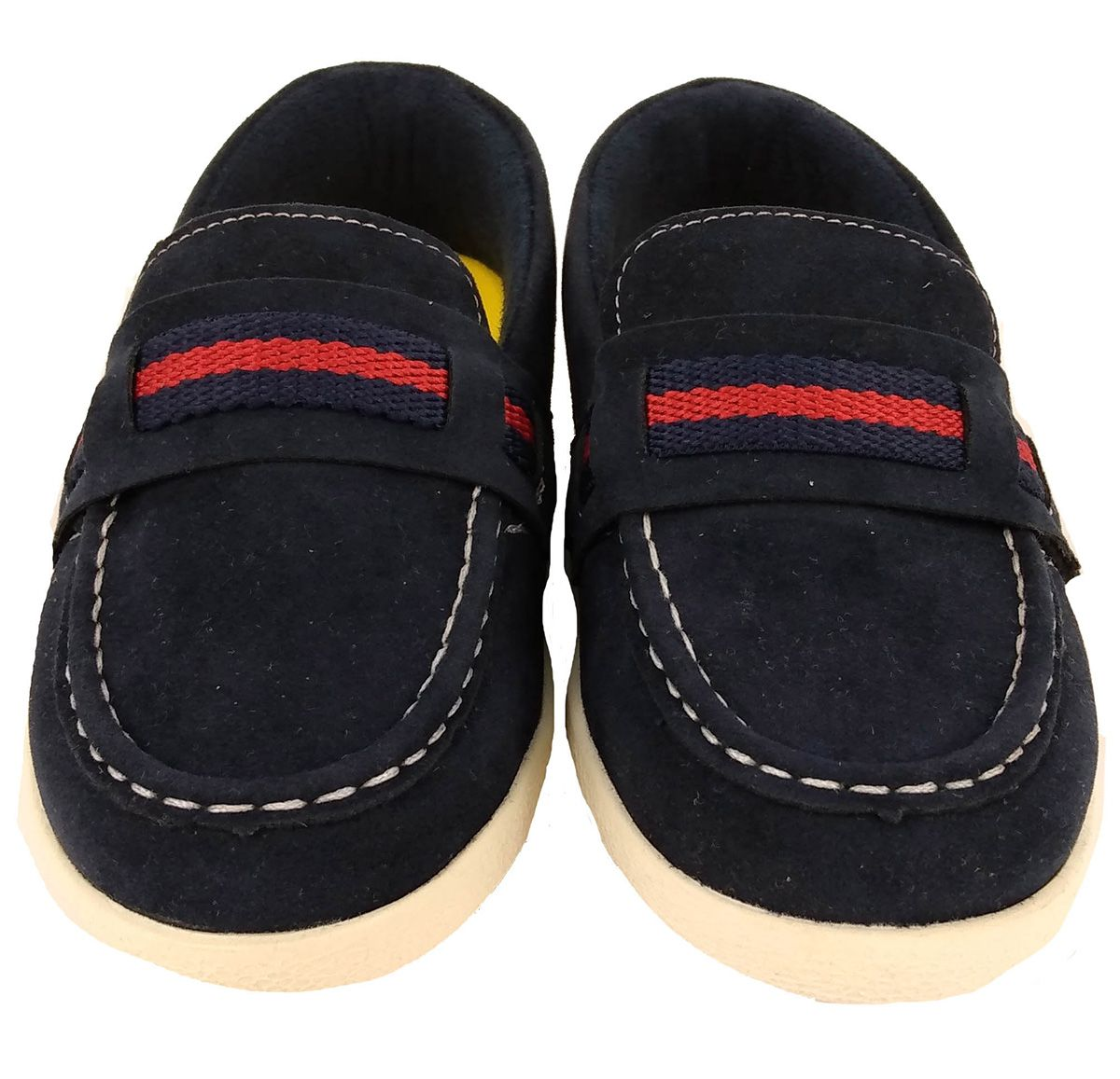 Sapato Klin Masculino Baby Flyer Azul Camurça
