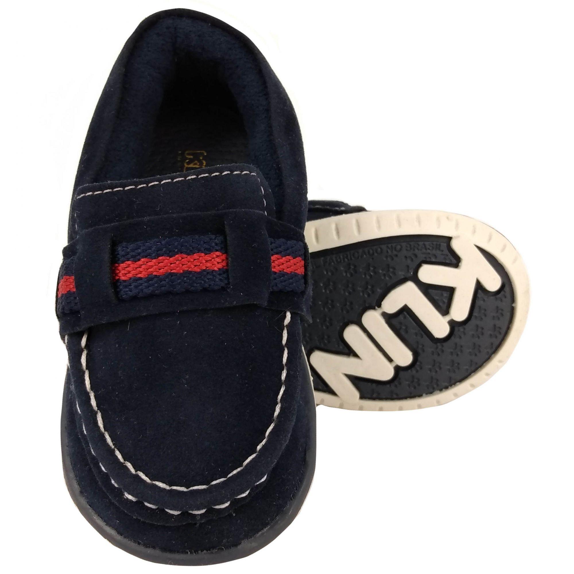 Sapato Klin Masculino Cravinho Casual Azul Marinho