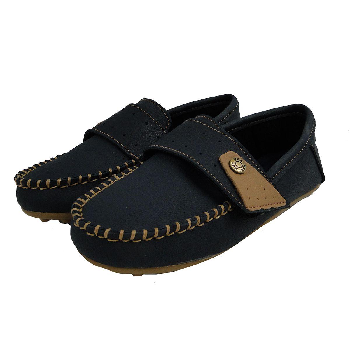 Sapato Klin Masculino Sameka Mocassim Azul