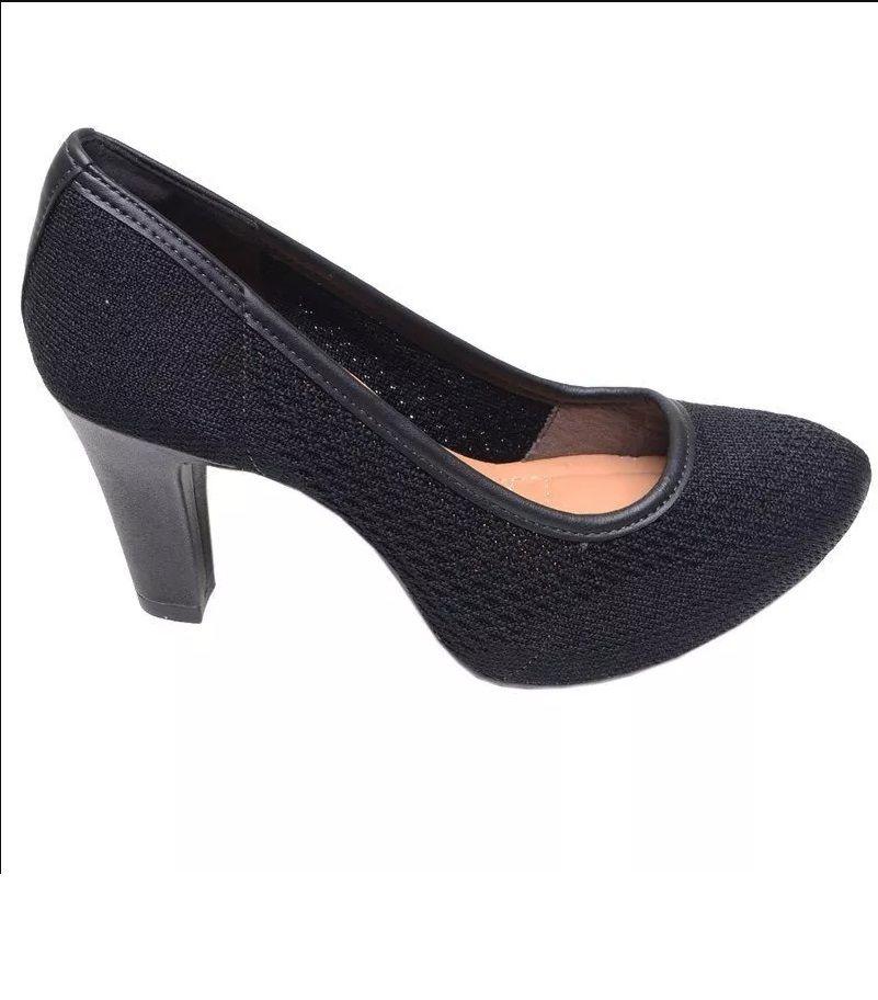 Sapato Salto Dakota Feminino Preto