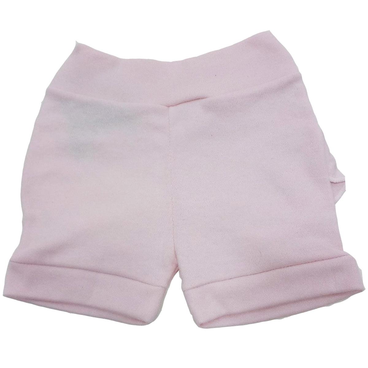 Short Estilinho Confecções de Bebe Rosa