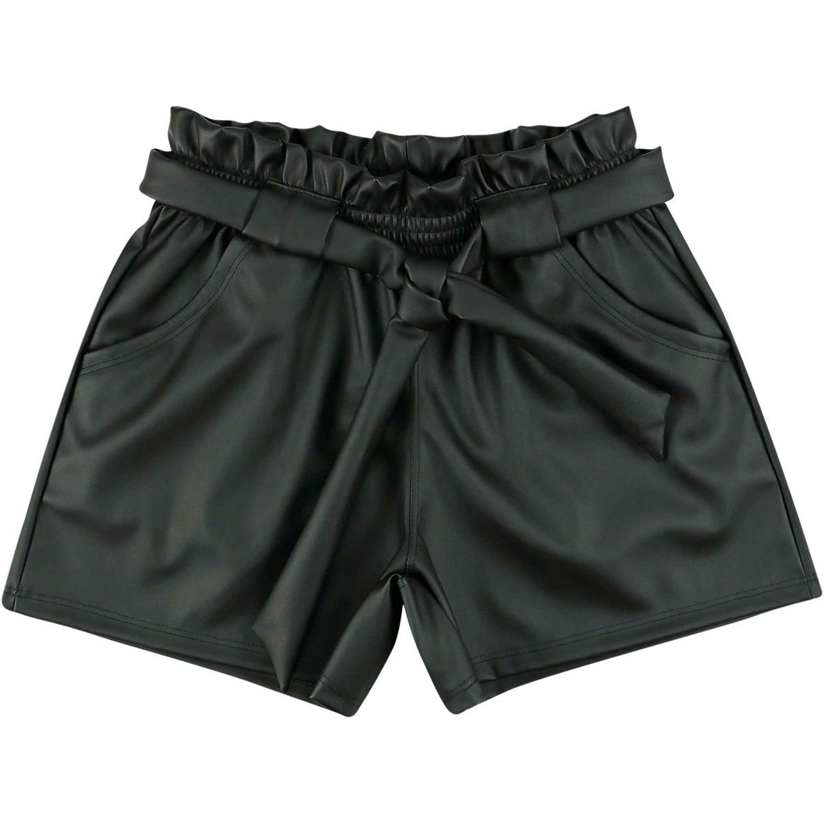 Shorts Look Jeans Feminino Preto