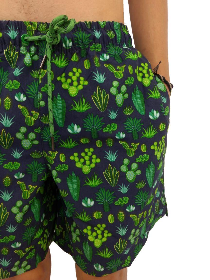 Short YachtMaster Masculino Estampado Cactus