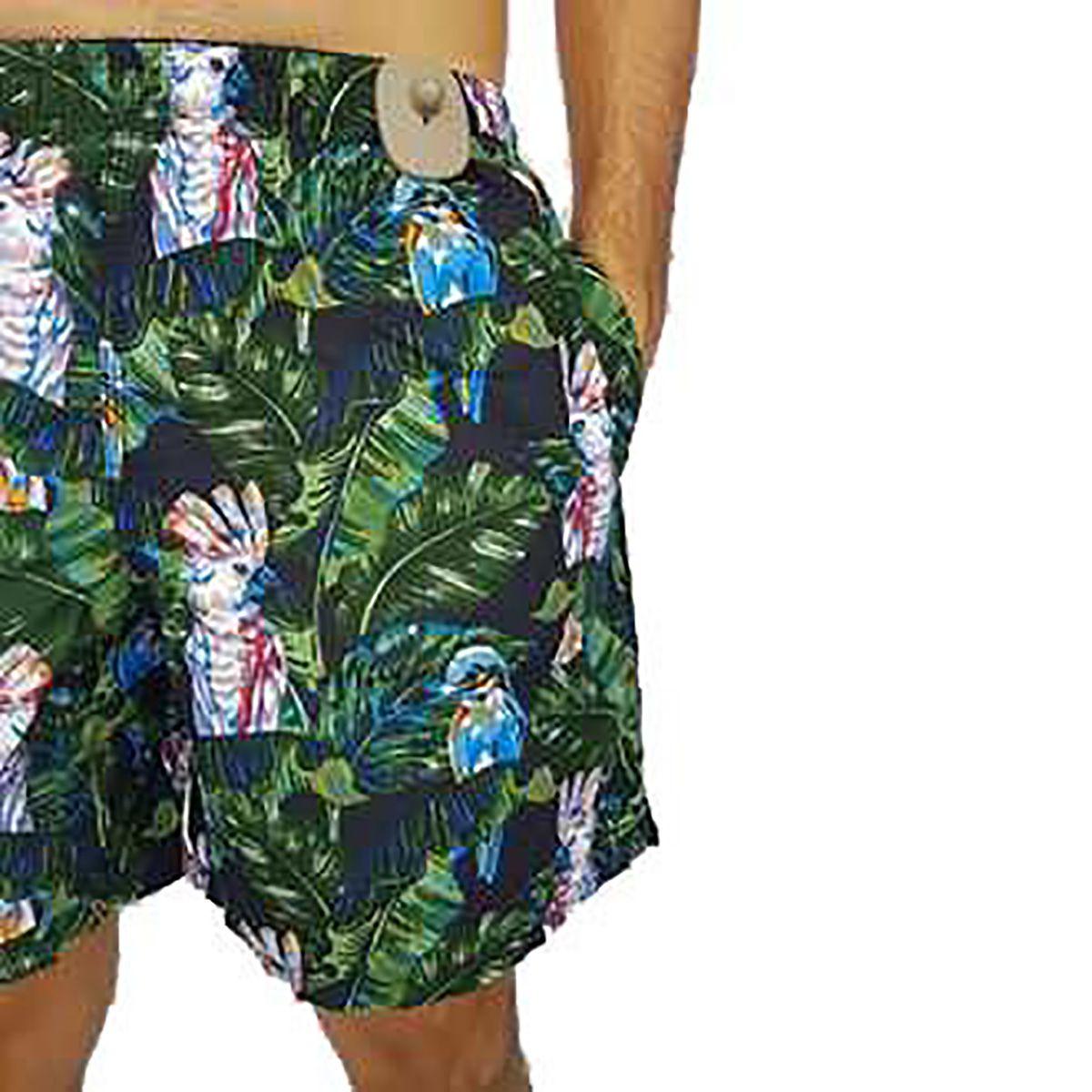 Shorts Estampado Masculino YachtMaster Preto
