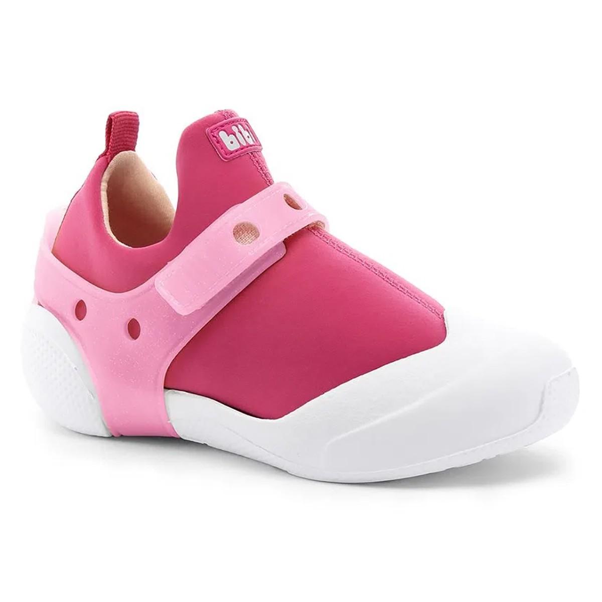 Tenis Bibi 2WAY Infantil Feminino Rosa