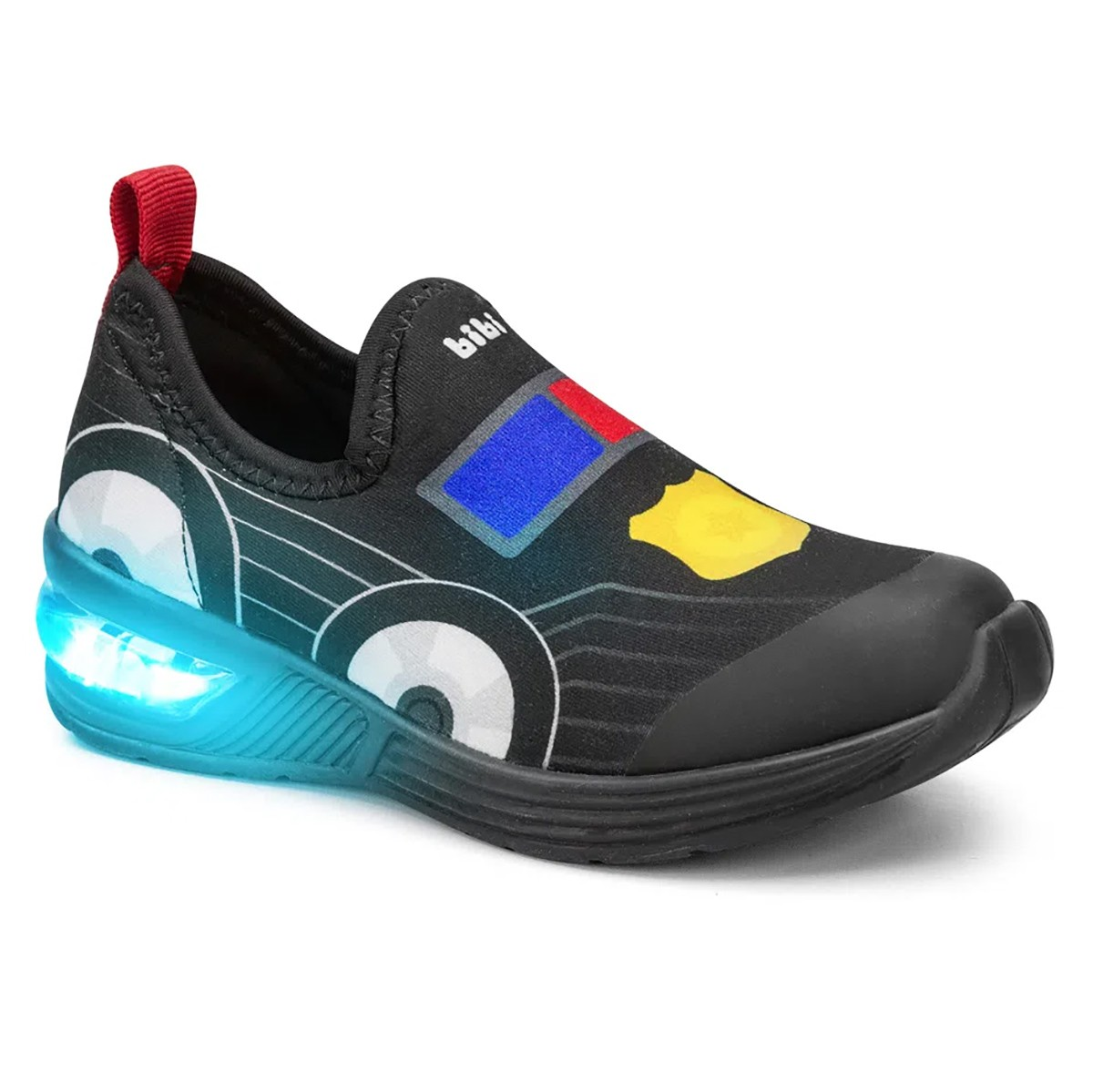 Tenis Bibi Luz Space Wave Masculino Carro
