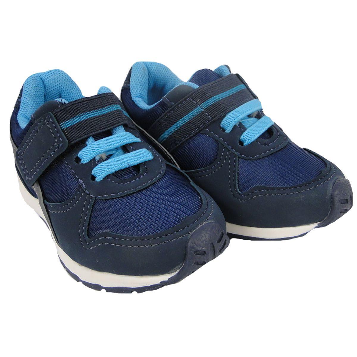 Tênis Bloompy Masculino Azul Velcro
