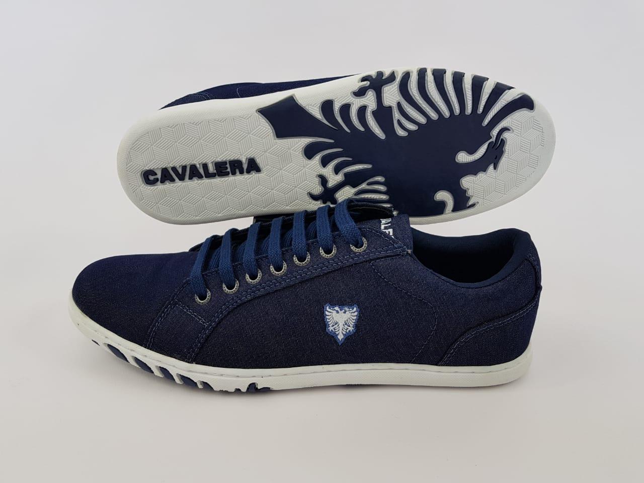 Tenis Cavalera Masculino Jeans Azul