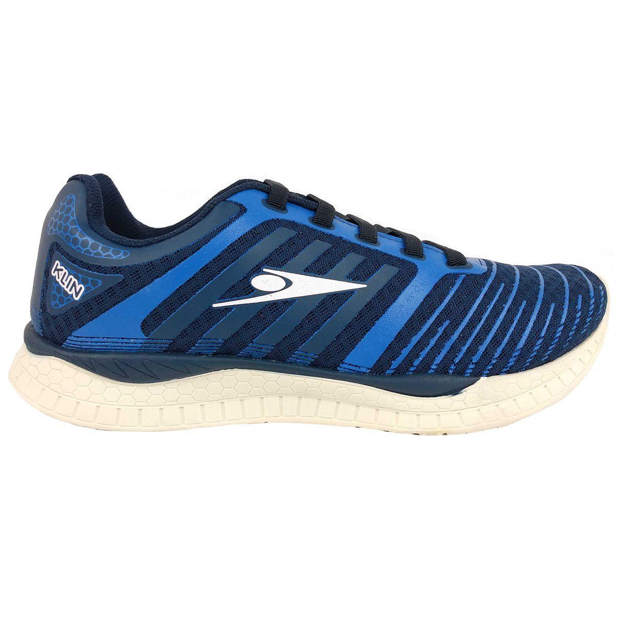 Tenis Klin Masculino Step Flex Azul
