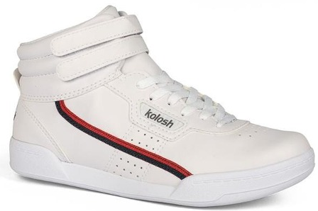 e0f2704349 Tênis Kolosh Botinha C1661 Branco Gel Vintage - Branco - 33