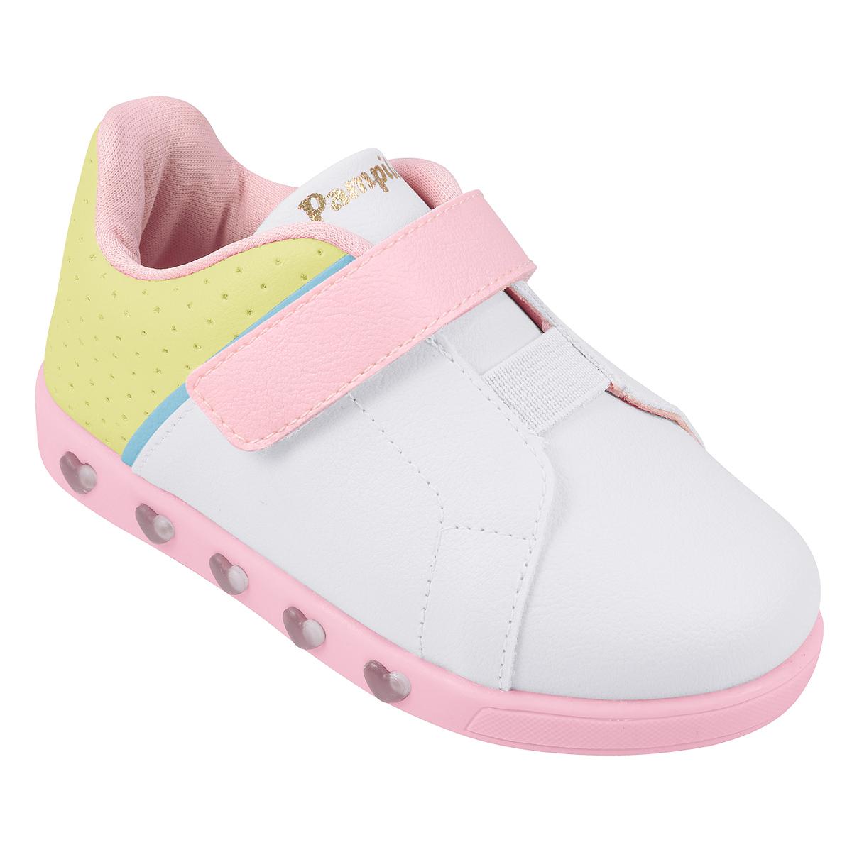 Tenis Pampili Feminino Infantil Sneaker Luz