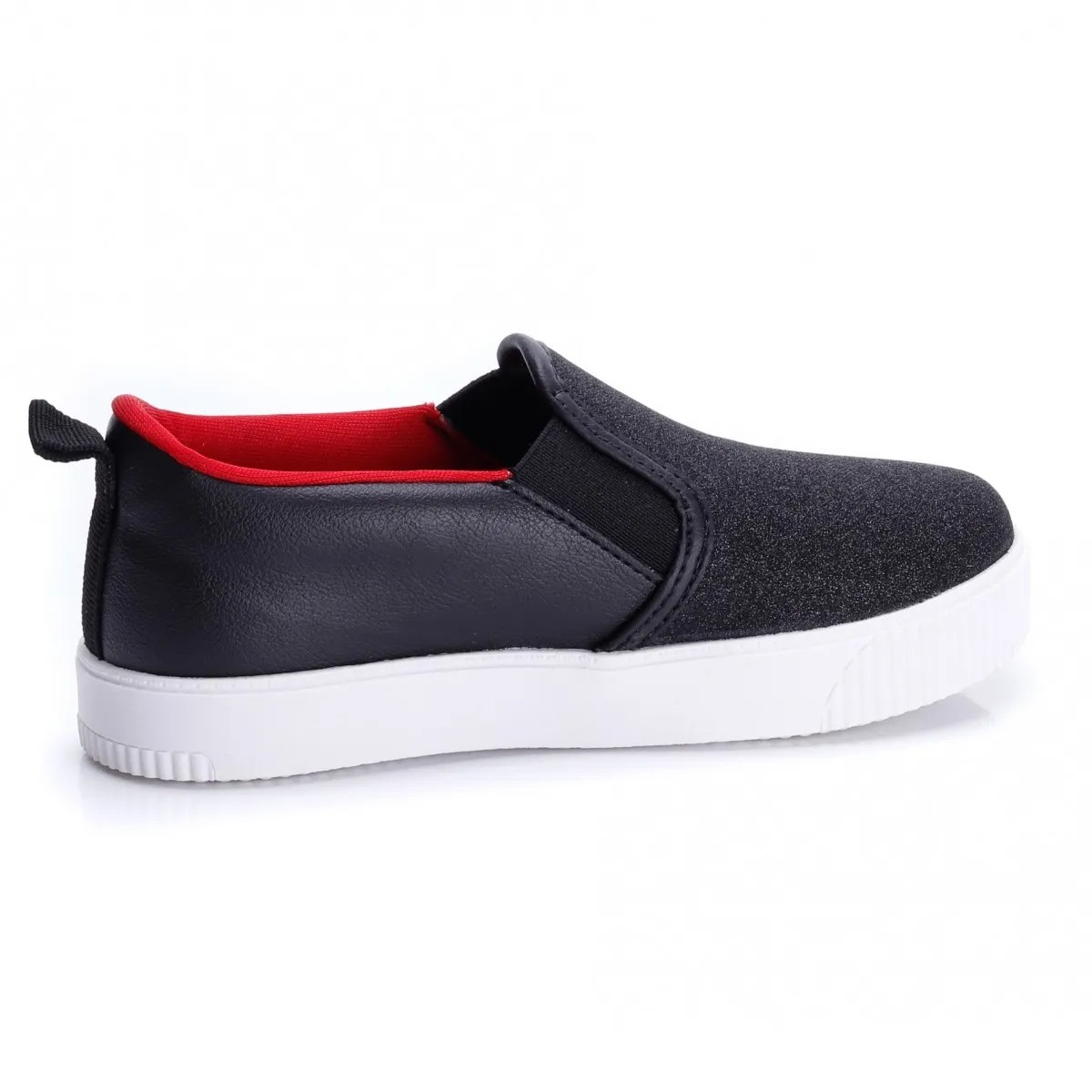 Tenis Pampili Now United Slip On Preto