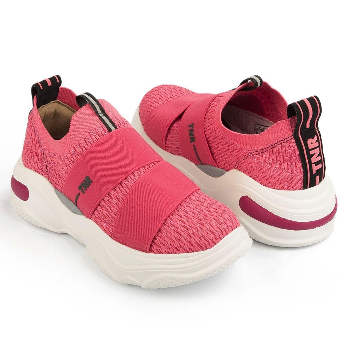 Tenis Tanara Tratorado Rosa Dad Sneaker T4182