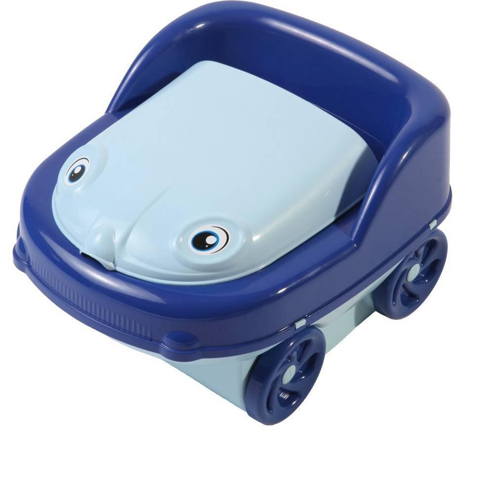 Troninho Pit Stop Styll Baby Azul  - Pick Tita