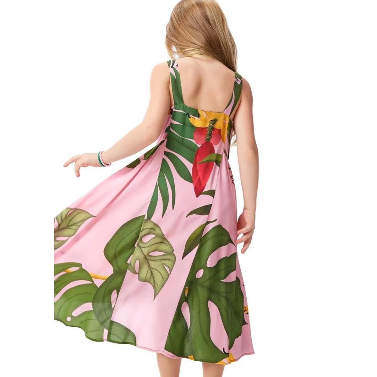 Vestido Camu Camu Feminino Mullet Coração de Banana