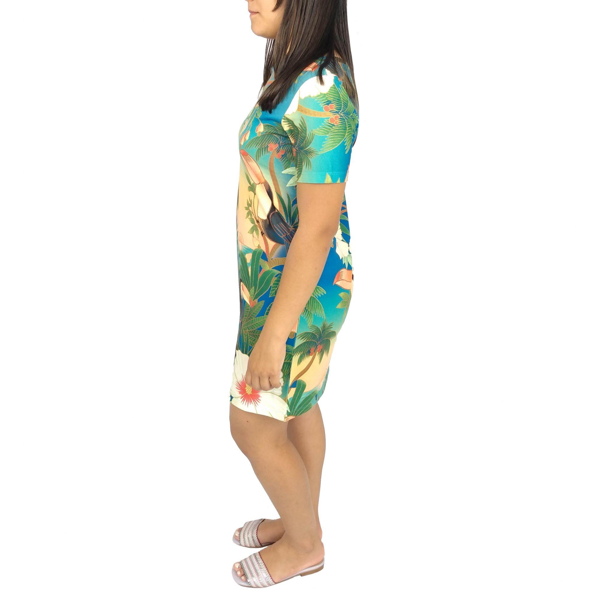 Vestido Farm Feminino Praia Tucanos