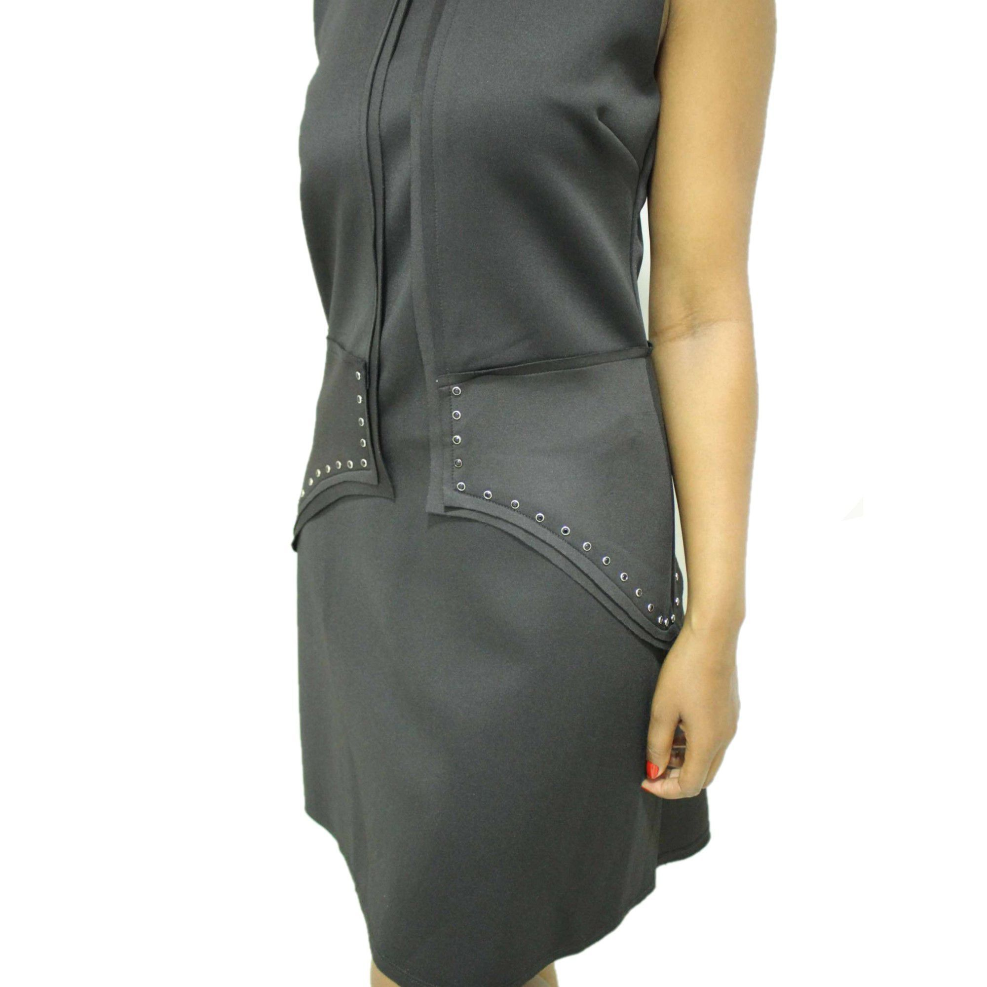 Vestido Feminino Preto Curto Abelt