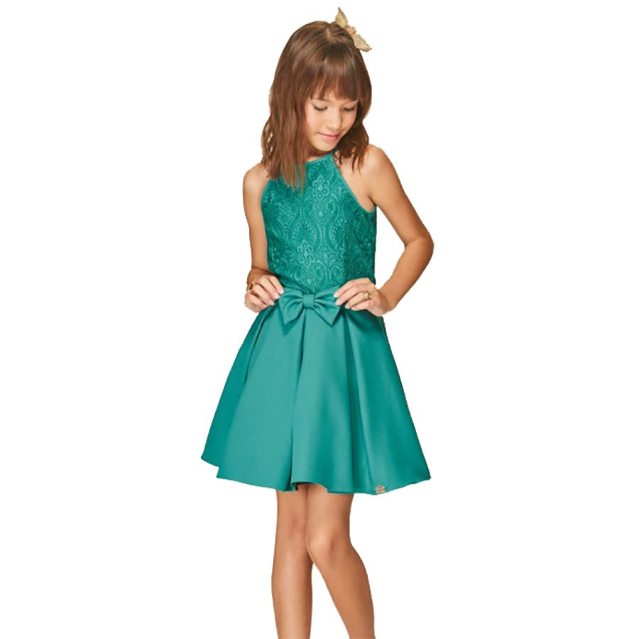 Vestido Karapalida Feminino Moly Verde