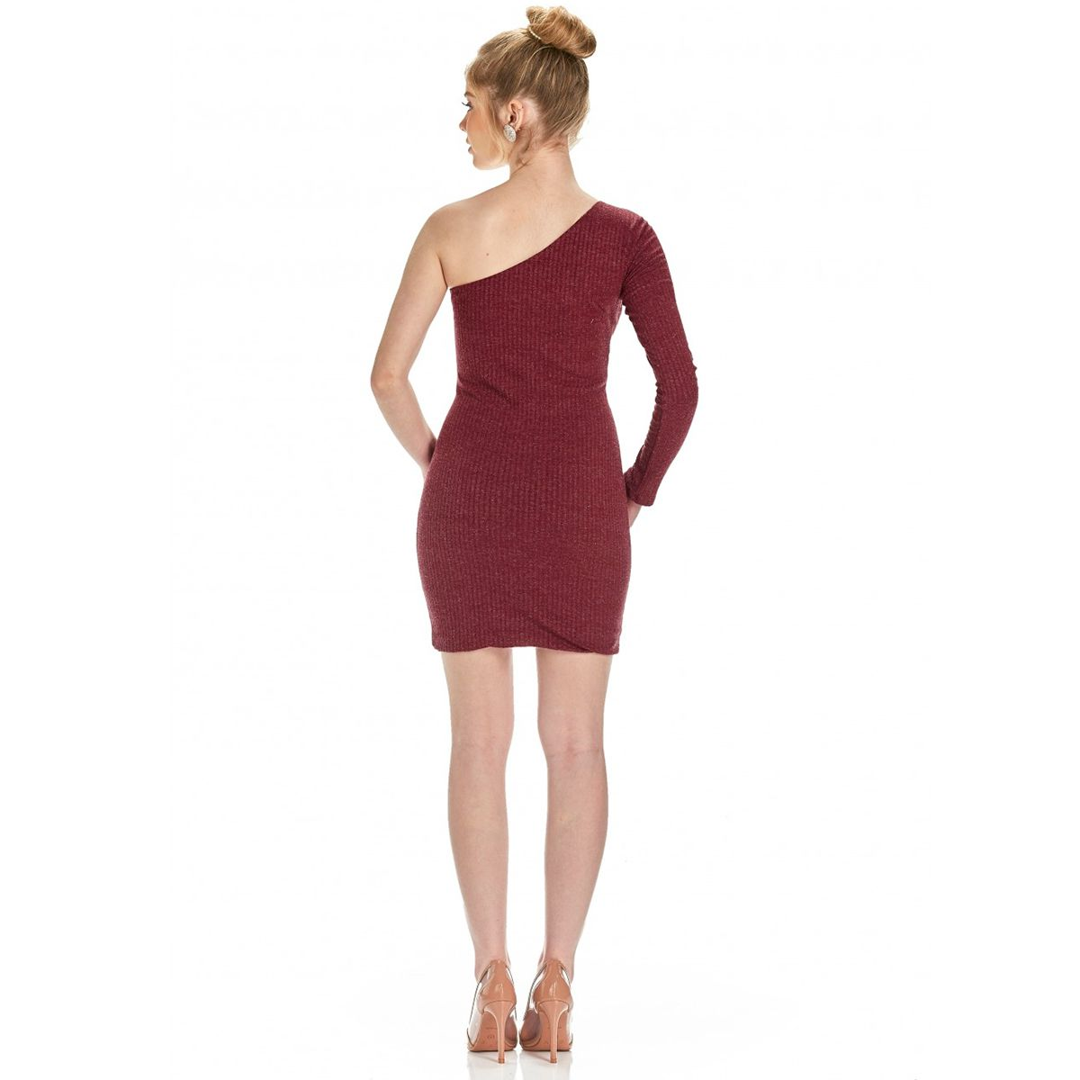 Vestido Karapalida Ombro Vermelho