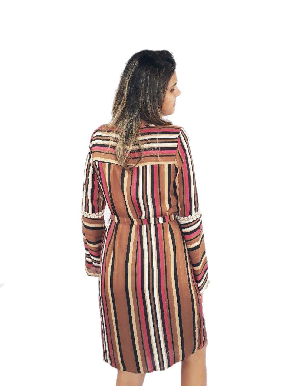Vestido Mania Nacional Feminino Malha