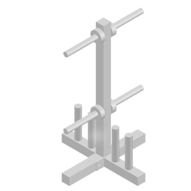 Kit Suporte Supinocom Barra 1,8 mts maciça Banco Regulável suporte de anilhas e barras