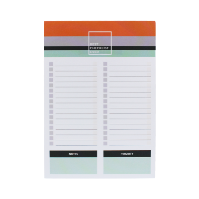 Bloco Check List A5