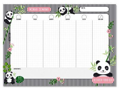 Bloco Semanal Panda