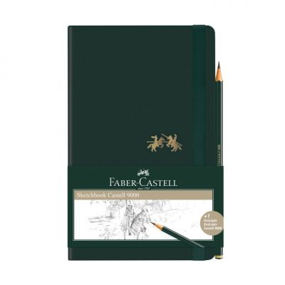 Caderneta Sketchbook Faber-Castell 125 x 200 mm