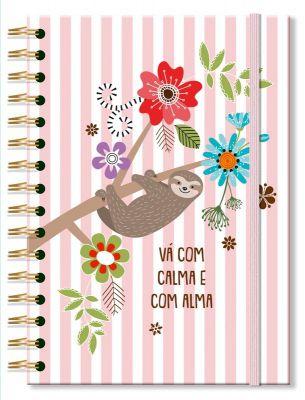 Caderno Colegial 'Bicho-preguica' 96 fls