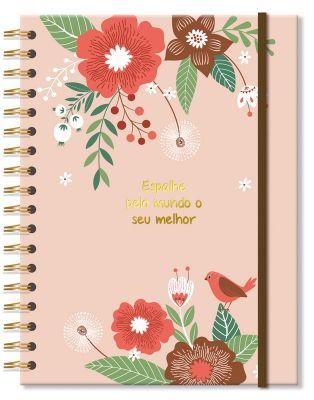 Caderno Colegial Jardim 200 fls