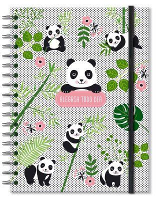 Caderno Colegial 'Panda' 200 fls