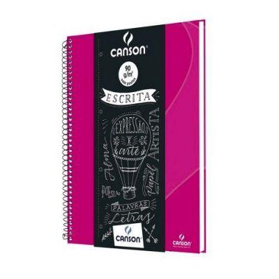 Caderno Escrita Canson Pink
